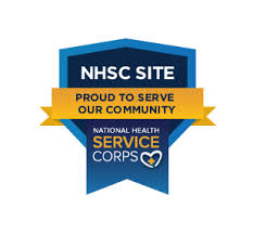 We are an NHSC Approved Site.